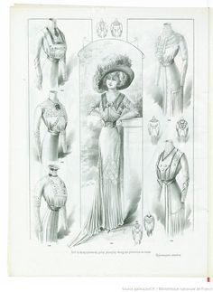 Le Cachet de Paris : journal de modes professionnel... | 1909-07-10 | Gallica