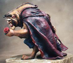 Beauty+and+the+Beast+statue+by+ArtNomad.deviantart.com+on+@deviantART