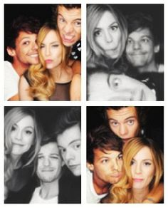 Larry with Gemma Styles. Idk if it's real but they all are so cute Little Mix, Larry Stylinson, Gemma Styles, Larry Shippers, Louis And Harry, Louis Williams, Wattpad, I Love One Direction, 1d And 5sos