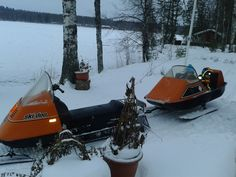 Ski-Doo Elan -83 ja sen reki