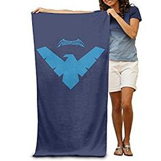 Amazon.com: LCYC Nightwing Symbol Adult High Quality Beach Or Pool Hooded Towel 80cm*130cm: Home & Kitchen