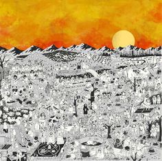father john misty album art pure comedy - Google Search