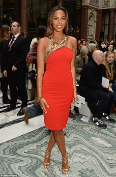Saturday for The Saturdays: Both Rochelle and Vanessa White brought their A-game...