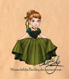 Little Anna by MoonchildinTheSky.deviantart.com on @deviantART