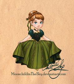 Little Anna by MoonchildinTheSky on deviantART