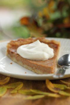 Pumpkin pie - recipe in finnish