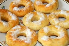 Leckere, schmackhafte und schnelle Donuts ohne Hefe * Einfache Rezepte