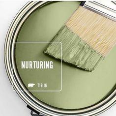 Behr Nurturing Behr Paint, Paint Stain, Wall Colors, House Colors, Colours, Kitchen Paint Colors, Paint Colors For Home, Painting Tips, House Painting