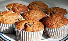 Blueberries, Bananas, and Oats  Desserts Banana Blueberry Oat Muffins 3 by VintageVictuals, via Flickr Blueberry Oat Muffins, Banana Oats, Blueberries, Bananas, Breakfast, Desserts, Food, Blueberry Oatmeal Muffins, Morning Coffee