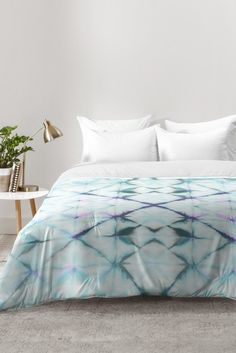 Amy Sia Tangier Aqua Blue Comforter | DENY Designs Home Accessories
