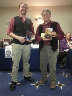 With Pat Valence at
