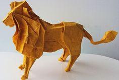 Amazing work, Lion #origami