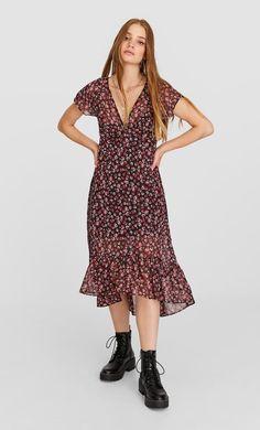 Vestido cruzado com cinto | SAHOCO Moda premium para
