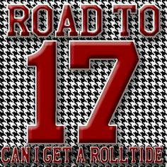 Heck yes, ROLL TIDE!!!