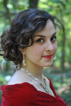 Hair Style by Liz Perniciaro  jewelery by Bel Canto Designs