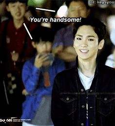 Yes! Key sometimes thinks he's not handsome because of the rest of SHINee members are just extra handsome but you do you, Key! You da sassiest and best fashionista in the whole group!