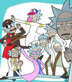 """""""Rick: See errph Morty, the thing y-you gotta know about other Ricks is-is that… they are all fucking weirdos. """" (saw this post and instantly thought of this im so sorry)"""