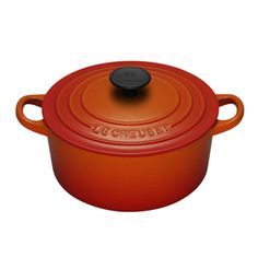 LE CREUSET  ...   See Mom?  I made the right choice when I bought Le Creuset (and All Clad, and Henkel knives, etc ....  )  buy me once site