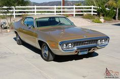 1972 Plymouth Satellite Sebring