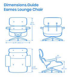 The Eames Lounge Chair and Ottoman is an iconic furniture set that combines soft leather and molded plywood curves to redefine what it means to lounge. The Eames Lounge Chair is Living Furniture, Furniture Layout, Furniture Design, Dump Furniture, Eames Furniture, Repurposed Furniture, Painted Furniture, Diy Chair, Chair And Ottoman