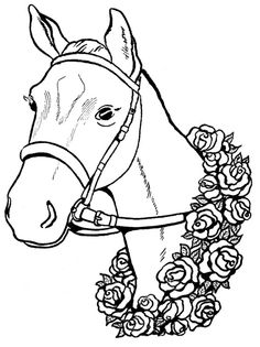 wild mustangs coloring pages - Free Horse Coloring Pages