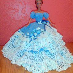 Beautiful Barbie dress