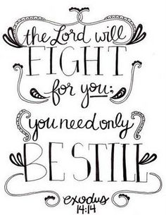 Let God Be Your Warrior!