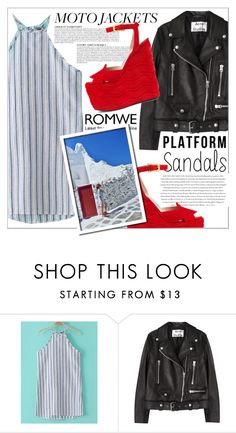 """romwe"" by ninakistyles ❤ liked on Polyvore featuring Acne Studios, Anja, Envi and Gucci"