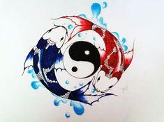 koi fish yin yang tattoo - FunPict.com