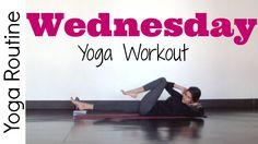 Sara Beth Yoga - Wednesday - Power Yoga Workout - #7DayYogaChallenge **Great if you're short on time!!