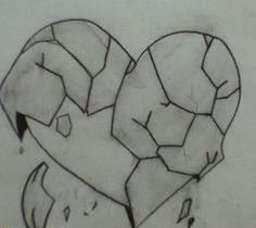Heart Break drawing