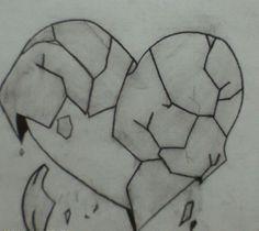 Heart Break drawing