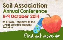Find out more about the Soil Association conference #organic http://www.soilassociation.org/conferences/2014conference