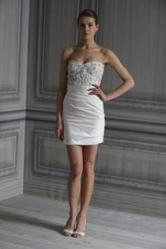 Taylor dress from Monique Lhuillier Spring 2012