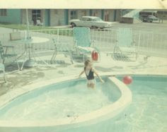 brings back fond memories of playing in the kiddie pool as a toddler on vacations -especially to Biloxi MS