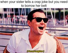 Trending GIF laugh laughing haha leonardo dicaprio ha sarcasm sarcastic the wolf of wall street very funny forced laughter forced laughing disingenuous Jordan Belfort, Short Jokes, Stupid Jokes, Wolf Of Wall Street, Clean Jokes, Cinema, Spongebob Memes, Straight Guys, Funny Cat Videos