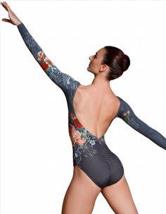 50b6438cf529 Ballet Rosa Laureline Long Sleeve Leotard Innovative and breathtaking,  Isabelle Ciaravola's fully hand designed microfiber