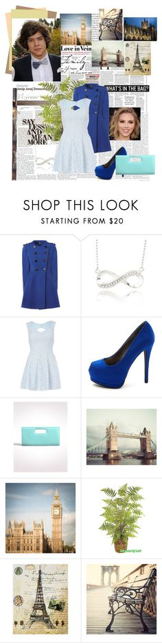 """""""A Walk Wit Harry Styles"""" by mary-5so1ds ❤ liked on Polyvore featuring SCARLETT, Jane Norman, River Island, Charlotte Russe, Dressbarn, WALL and La Tour Eiffel"""
