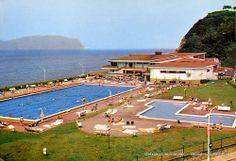 Antiguas piscinas del Puerto Viejo, años 70 (Colección Daniel Zubimendi) (ref. Z00244)