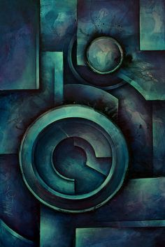"""""""Vault"""" Painting by Michael Lang"""
