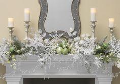 Decorated Mantles: PORCELAIN GARDEN