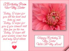 27 Best Birthday Poems Images Birthday In Heaven Poem Birthday