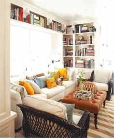 Color Outside the Lines: Twenty Questions with Mark D. Sikes......eventual family room inspiration