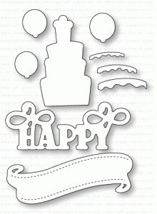 Papertrey Ink - Paper Clippings: Birthday Details Die                      $13.00
