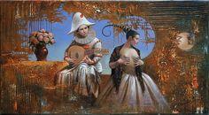"""Sarabanda"" 11""x20"" oil on canvas 2015"