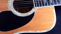 ik speel gitaar. eerst akoestisch