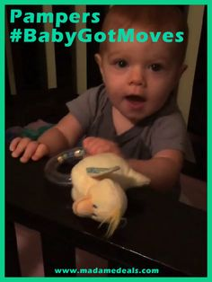 A Dry Baby is Happy Baby with Pampers #BabyGotMoves #DDDivas #sponsored