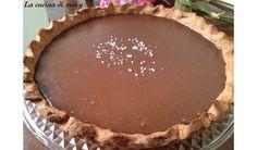 Crostata al,cioccolato e caramello salato senza glutine BlogGz la cucina di miky