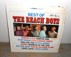 Vintage Vinyl Album Best of The Beach Boys Capital by TheBackShak