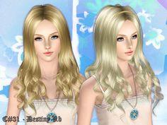 Cazy's Destiny Hairstyle v2 - Female